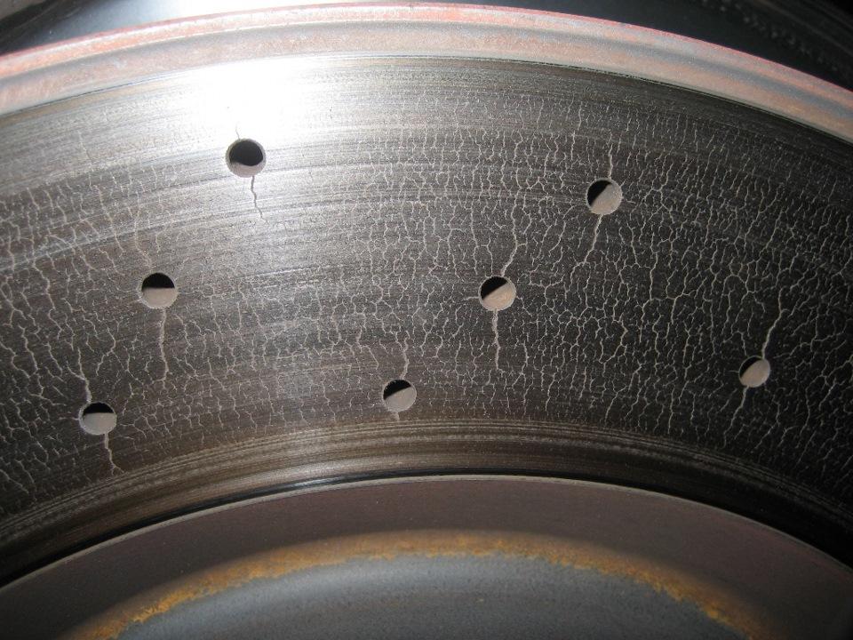 Вентилируемые диски своими руками