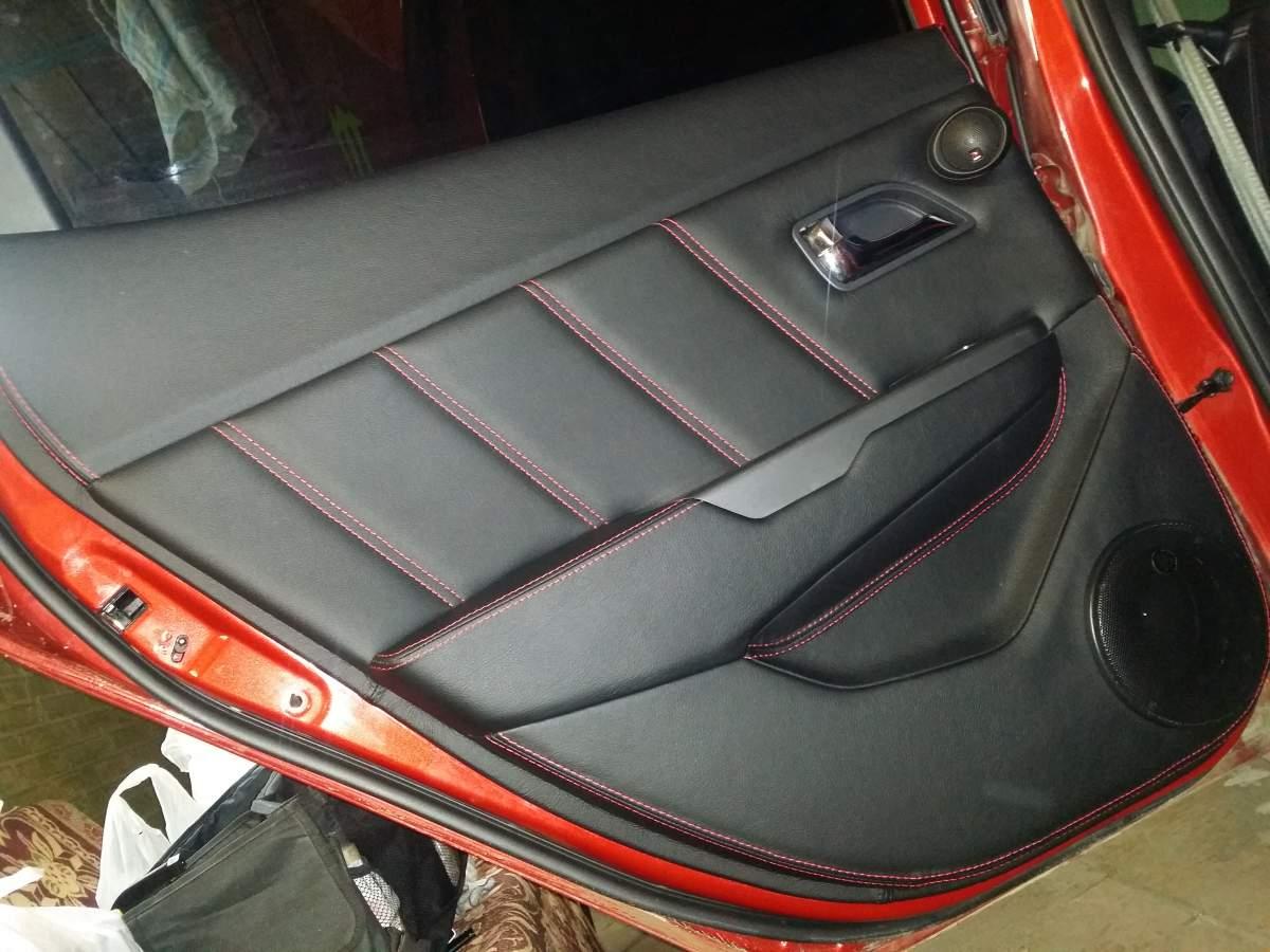 Перетяжка дверей авто своими руками