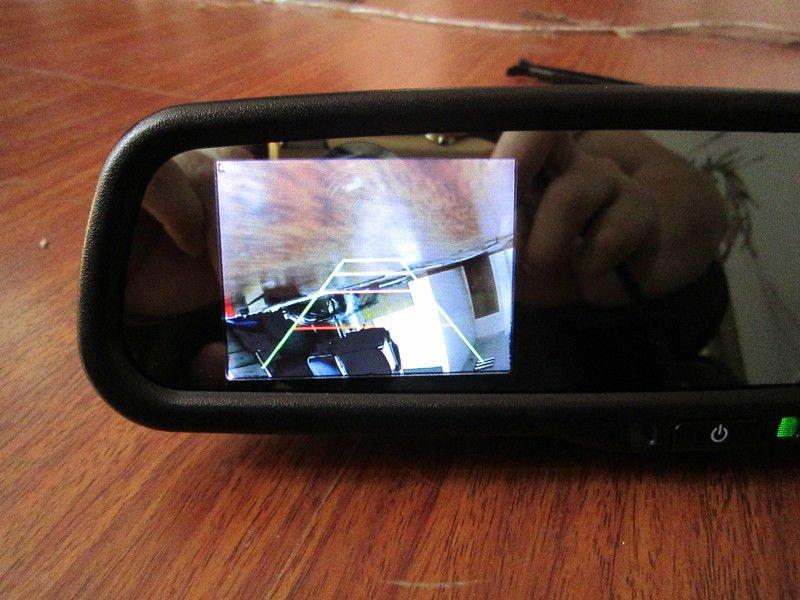 камера заднего вида на киа рио 2015 фото