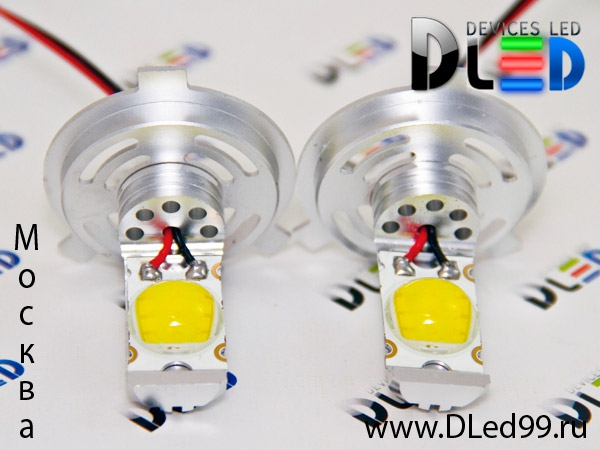Светодиодная автомобильная лампа H4 - Head Light.  Компания светодиодного освещения Devices LED представляет новейшую...