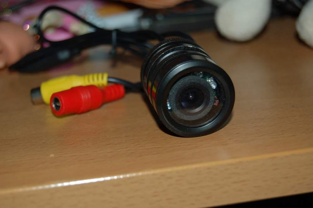 Ремонт камеры заднего вида круглая