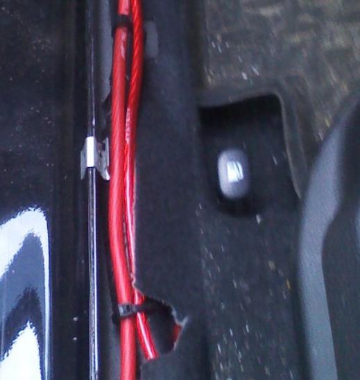 как открыть багажник на киа сид из салона