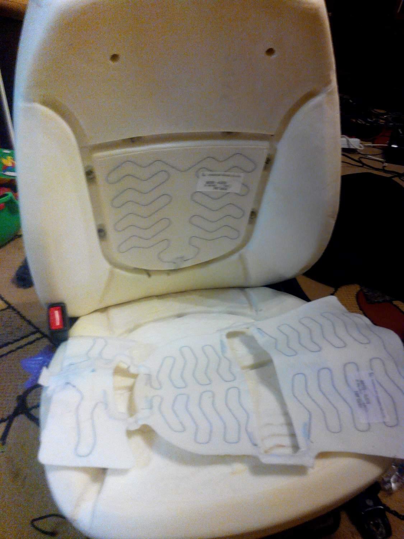 как отремонтировать подогрев сидений на киа рио