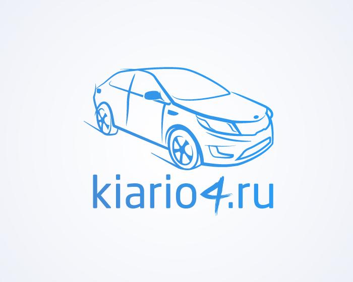 киа рио логотип в векторе