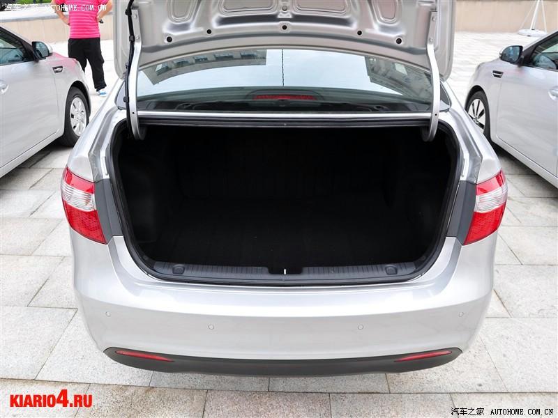 какой объем багажника у киа рио седан 2015