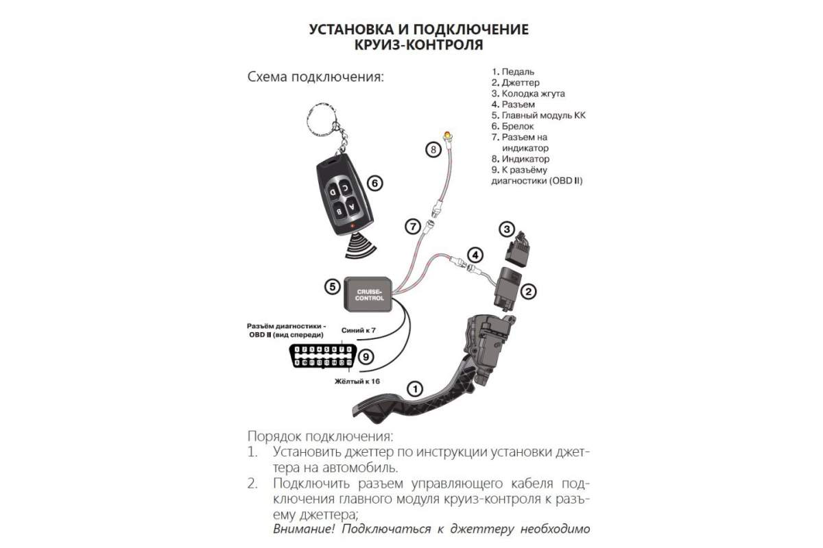 Схема подключения круиз контроля на уаз патриот