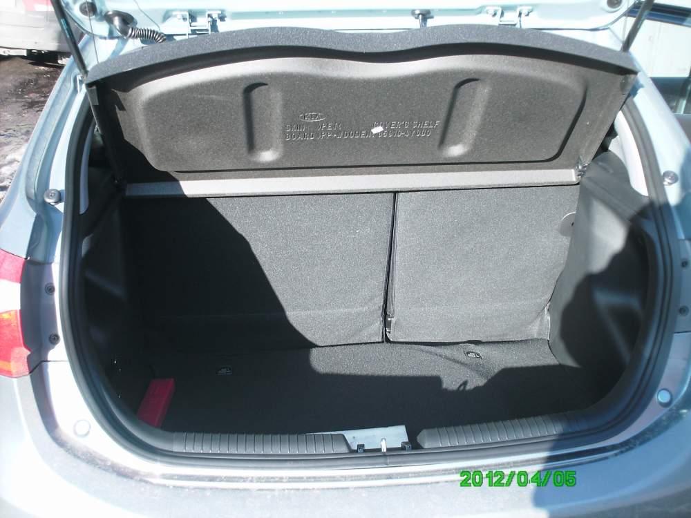какой объем багажника у киа рио хэтчбек