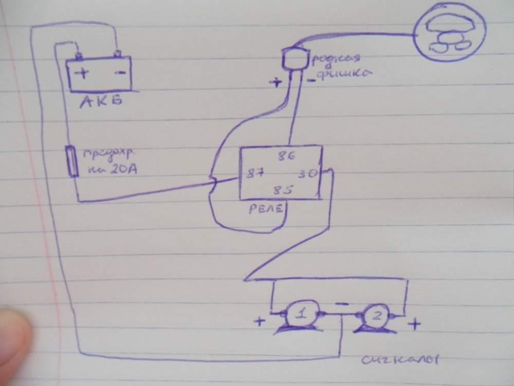 Мои данные. подключение волговского сигнала через реле. оборудование шиномонтаж. главбух.
