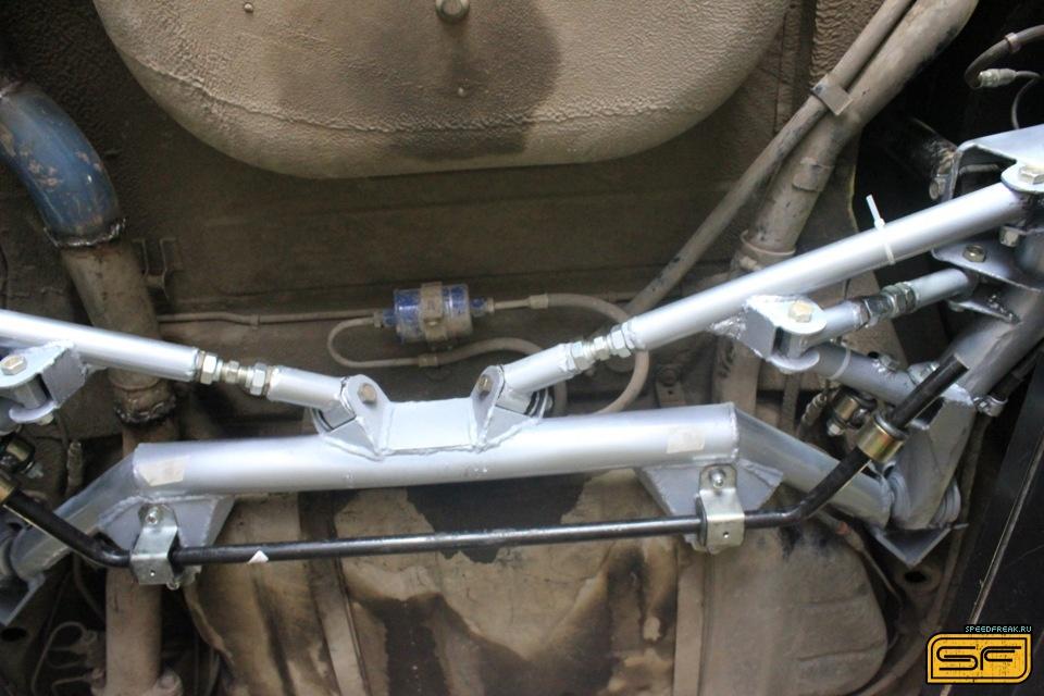 Фото №9 - независимая задняя подвеска ВАЗ 2110